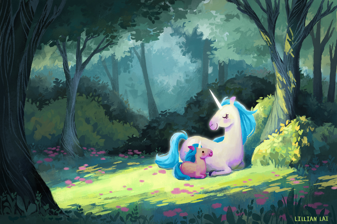 Illustration_UnicornWoods_LillianLai