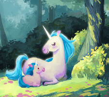 Forest of Unicorns